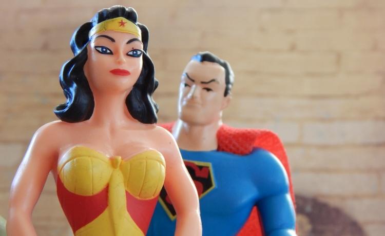 Superhero Couple Halloween
